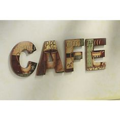 Kitchen Decor Themes Coffee coffee shop plaques 4pc country red black beige, kitchen wall