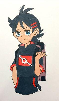 Pokemon Stories, Pokemon Go, Ash, Fictional Characters, Gray, Fantasy Characters