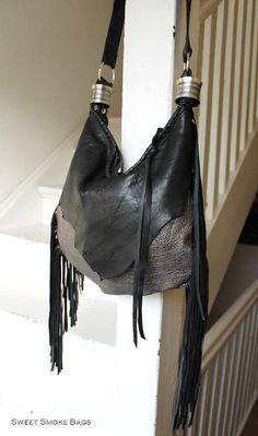 5261b5a0d39d Nouveau sac en cuir - pièce artistique par Sweet Smoke sacs   En naturel  italien