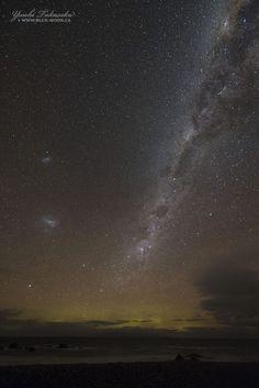 La Vía Láctea y las Nubes de Magallanes desde Nueva Zelanda – El Universo Hoy