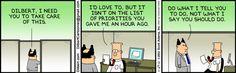 Yet another brilliant Dilbert cartoon!