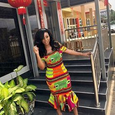 2018 Ankara Short Gowns : 50+ Latest Gown Styles for Classy Ladies | Zaineey's Blog