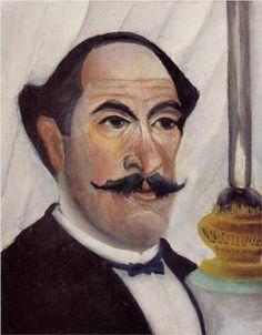 Henri Rousseau, self-portrait