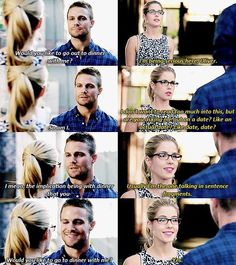 Oliver and Felicity - Olicity. Arrow