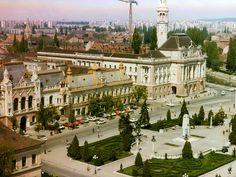 Oradea de sus: Piata Unirii | Oradea in imagini - Anii '80
