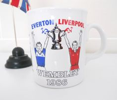Liverpool FC v Everton 1986 FA Cup Final Mug