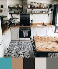 If you want to add a special touch to your Scandinavian dining room lighting des. - Decor Diy Home Kitchen Rug, New Kitchen, Kitchen Decor, Kitchen Ideas, Kitchen Black, Apartment Kitchen, Kitchen Backsplash, Black Backsplash, Kitchen Cupboards