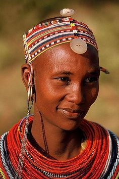 The Samburu people, Kenya