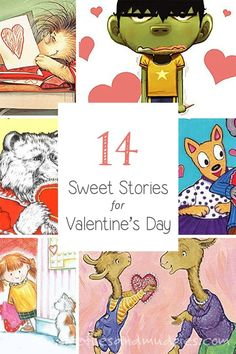 14 Sweet Stories for Valentine's Day | Fireflies and Mud Pies