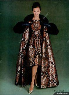 Vintage Tops, Look Vintage, Sixties Fashion, Retro Fashion, Vintage Fashion, Classic Fashion, Moda Fashion, Runway Fashion, Fashion Outfits