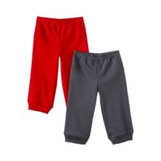 Just One You by Carters® Infant Toddler Boys' 2-Pack Pant - Red/Grey NB Quick Information