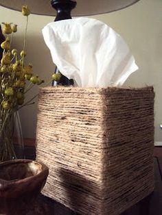Diy Tissue Box Cover No Sew Ready Set Be Crafty