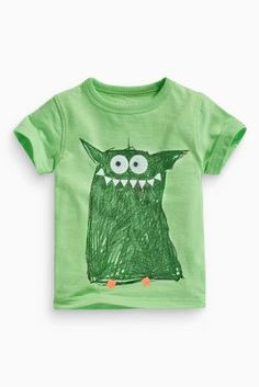 Buy Monster Print T-Shirt (3mths-6yrs) online today at Next: Australia