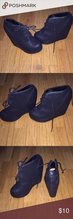 Black Wedge Heels Black Wedge Heels Shoes Heels
