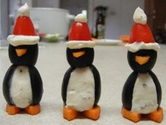 Christmas Penguin Appetizers (In my spare time :-)