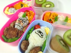 Bento for my doughters! Youkai watch!