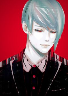 Tsuki again (I just love drawing him >- Tokyo Ghoul Tumblr, Chibi Tokyo Ghoul, Ayato Kirishima, Love Drawings, Anime Artwork, Kaneki, Anime Love, Besties, Avatar