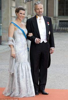 Princess Martha Louise of Norway has opened up about her divorce from husband Ari Behn (the couple are pictured in Stockholm for a Swedish royal wedding in June 2015)