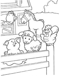 Kleurplaten Boerderij Vroeger.518 Beste Afbeeldingen Van De Boerderij Day Care Kindergarten En