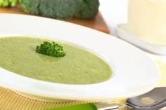 Healthy Cream of Broccoli Soup - Busy But Healthy