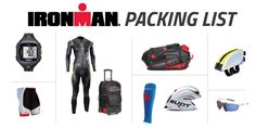 The Definitive IRONMAN Packing List. A handy guide to everything you need for your big day, with bonus race-day tips. Triathlon Gear, Ironman Triathlon, Triathlon Training, Tri Shorts, Tri Suit, The Iron Lady, Compression Clothing, Half Ironman, Race Training