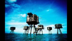 Maunsell Sea Forts (Reino Unido) (Foto: huffingtonpost.es)