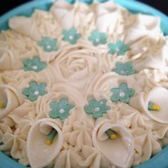 Cake..Soap Cake...Handcrafted Calla Lilly Flowers all-in-one!