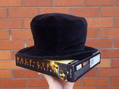 ec4d37e6996 90 s Velvet Bucket Hat