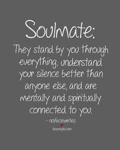 Soulmate And Love Quotes My soulmate our connection is so pure! Soulmate and Love Quotes QUOTATION Image Quotes Of the day Description My soulmate… our connection is so pure! Sharing is Power Don't forget to share this quote ! New Quotes, Funny Quotes, Life Quotes, Inspirational Quotes, Soul Qoutes, Pure Love Quotes, Motivational, Best Friend Soul Mate, Soul Mate Love