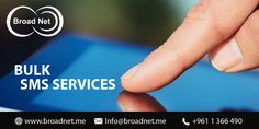At BroadNet Technologies, we offer you the sublime #bulk #SMS #services at very affordable price rates. So now, you can be hopeful of sending the SMS messages to your near and dear ones, targeted audiences all over the world with full easiness.