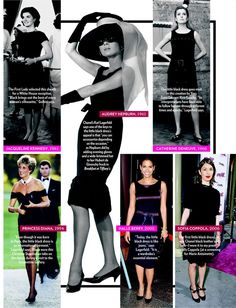 Coco Chanel Little Black Dress 2014 | From PEOPLE Magazine Click to enlarge