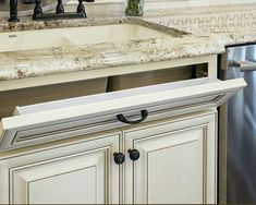 Home Depot Kitchen Cabinet Refacing Refacing Kitchen Cabinets Cost, Beige Kitchen Cabinets, Antique White Cabinets, Bath Cabinets, Kitchen Cabinet Design, Home Depot Kitchen, Kitchen Decor, Kitchen Remodeling, Kitchen Ideas