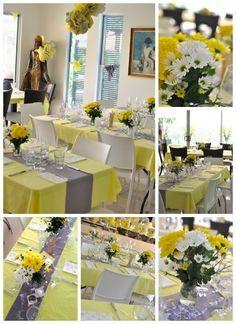 Yellow And Grey Elephant Baby Shower | Yellow And Grey Baby Shower