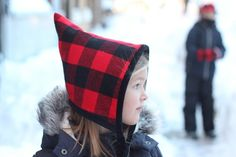 Free pattern: Blizzard Bonnet pixie hat for kids