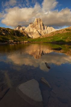 Golden Moments in the Dolomites #Italy