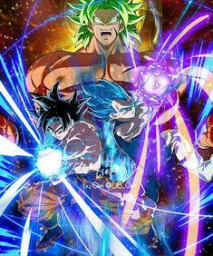 Dragon Ball Super Broly e Dragon Ball Gt, Dragon Ball Image, Dragon Z, Dragon Super, Broly Movie, Akira, Fan Art, Anime Characters, Anime Art