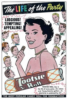 TOOTSIE ROLL AD FROM VINTAGE COMIC by Christian Montone, via Flickr