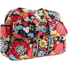 Vera Bradley Baby Bag in Happy Snails