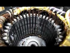 AC INDUCTION MOTOR CONVERSION TO AC PERMANENT MAGNET GENERATOR FUN - YouTube