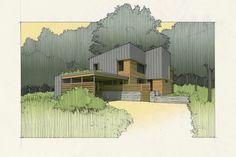 ACORN GLADE PASSIVE HOUSE -Tom Bassett Dilley