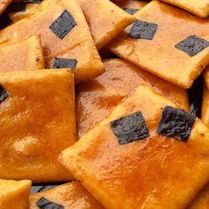Okaki(Senmai) Japanese Sweets, Japanese Food, Japanese Rice Crackers, Salty Snacks, Nihon, Food Festival, Sweet And Salty, Bento, Street Food