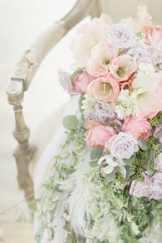 Pink and Lavender Floral Bouquet | Photography – Elisabeth Millay Photography | Floral – Rebecca Shepherd Floral Design