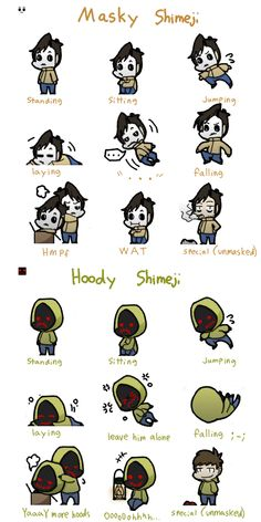 Masky Hoody shimeji (Mac and PC) by Mangaotakufreak on deviantART