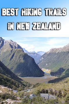 5 of the best hikes in New Zealand for beginners to advanced hikers who are looking for a way to see some of the most amazing views of the country! Great Places, Places To Go, New Zealand Travel, Best Hikes, Continents, Trail, Hiking, Australia, Good Things