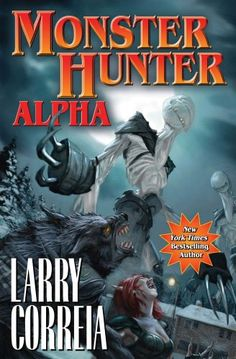Monster Hunter Alpha by Larry Correia .  Cover image from amazon.com.  Click the cover image to check out or request the science fiction and fantasy kindle.
