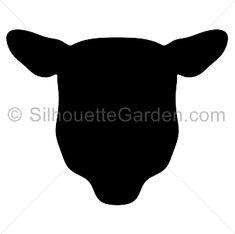 Suffolk Sheep Silhouette Bing Images Barnyard Friends