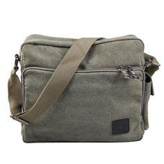 Vktech Man Crossbody Single Shoulder Messenger Bag Canvas Satchel Deep (Army Green) Vktech http://www.amazon.com/dp/B00KQ844TE/ref=cm_sw_r_pi_dp_p9L-tb02H74P8