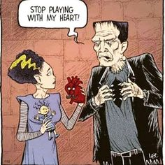 The Frankenstein Saga You Funny, Really Funny, Hilarious, Funny Stuff, Funny Times, Halloween Cartoons, Halloween Fun, Halloween Humor, Halloween Artwork