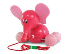 vilac french elephant pull toy at my sweet muffin | baby shower gift guide