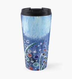 Field of frost Travel Mug Beard Winter, Christmas Art, Xmas, Snowy Trees, Winter Fairy, Green Palette, Winter Solstice, Winter Landscape, Winter Time
